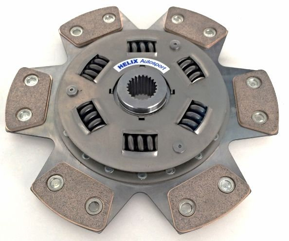 Focus RS/ST MK2 Helix 6 paddle Clutch