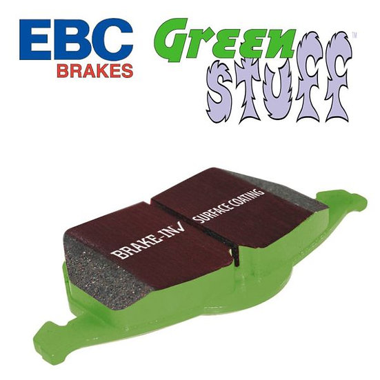 Ford Fiesta ST150 MK6 EBC Green Stuff Rear Pads