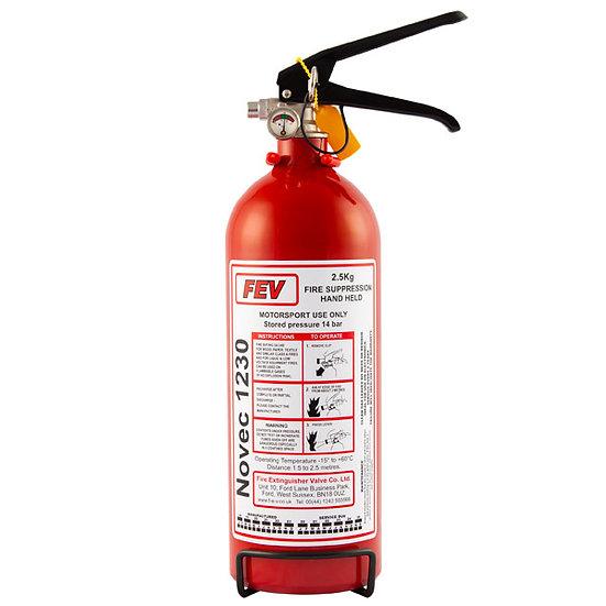 FEV 2.5kg Handheld Novec1230 Gas Extinguisher