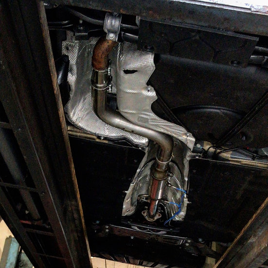 R-Sport Focus ST MK3 TDCi Hatchback/Estate DPF Replacement Pipe