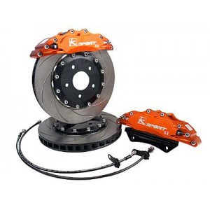 Focus ST 225 K-Sport 356mm 8 Pot Fixed Brake Kit