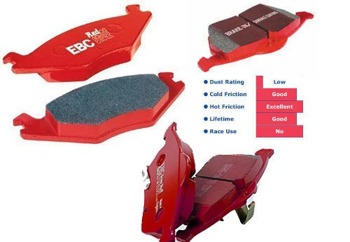 Focus ST Mk3 EBC Red Stuff Rear Pads