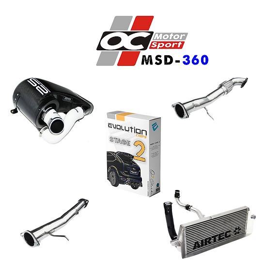 MSD Focus RS MK2 OCM 360BHP Power Upgrade Package