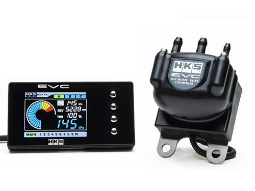 HKS EVC 6 Boost Controller - Color Display - Focus RS MK2 Can Bus Adapter Needed