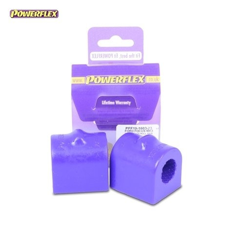 Powerflex Front Anti Roll Bar To Chassis Bushes 23mm - Focus Mk3 ST - PFF19-1603