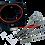 OC Motorsport - MK3 Ford Focus ST / RS petrol throttle body spacer kit ST250
