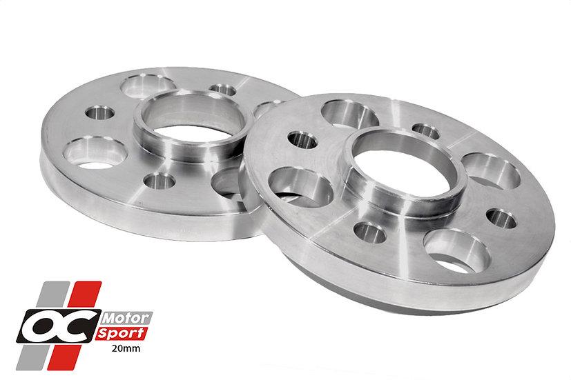 OC Motorsport Racing 20mm 4 Stud Wheel Spacers