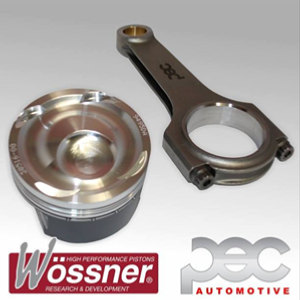 Wossner Forged Pistons and PEC Rod Set Focus RS Mk2 and ST225