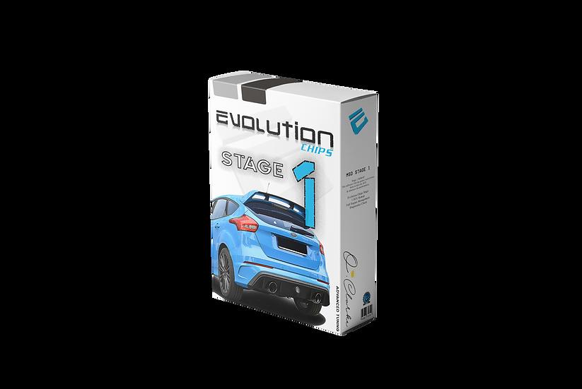 OC Motorsport Focus RS MK1 Stage 1+ MSD 380bhp High Torque Remap +35bhp +90NM+