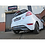 Fiesta 1.0L Ecoboost Cobra Cat Back Exhaust System Non Resonated