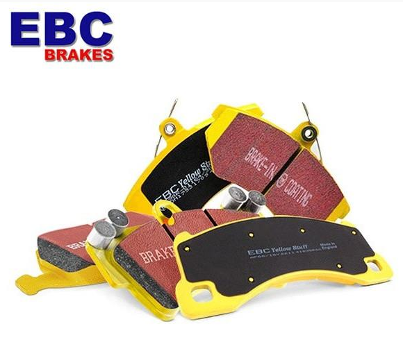 Fiesta ST Mk8 EBC Yellowstuff 4000 Series Street and Track Brake Pad Rear Set