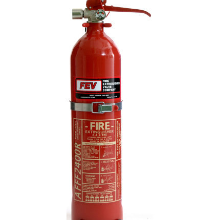 FEV 2.4 Litre Hand Held Fire Extinguisher +ADS AFFF