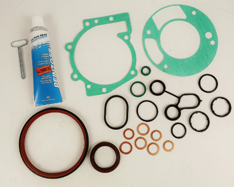 ST225/RS Bottom Gasket Set. Perfect for engine rebuilds.