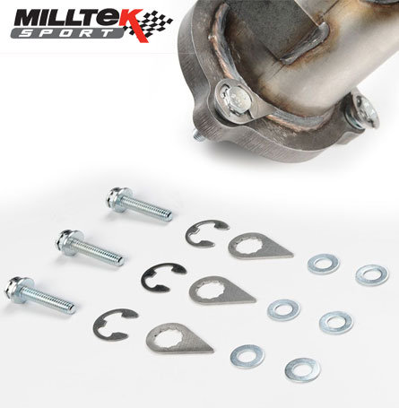 Milltek Downpipe Locking Fasteners All Ford Models within the ST/RS range