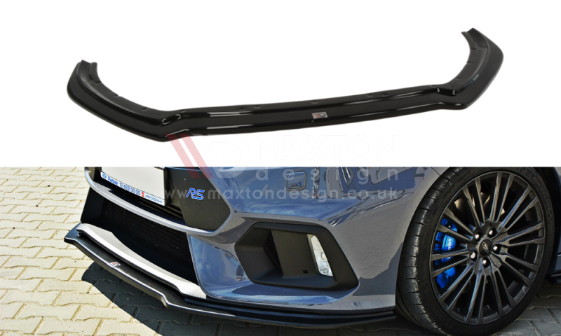Maxton Design - Front Splitter for Mk3 Focus RS V.4