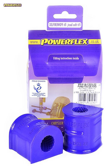 Powerflex Front Anti Roll Bar To Chassis Bushes 22mm - MK2 ST - PFF19-1203-22