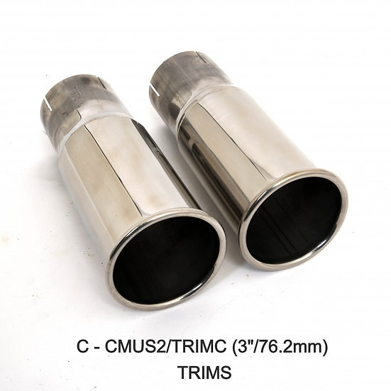 Piper Exhaust Ford Mustang 5.0 V8 GT Two Silencer ROAD Exhaust System