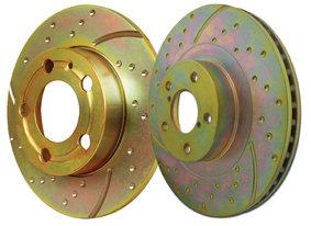 Focus RS MK1 EBC Turbo Groove Brake Discs (front)