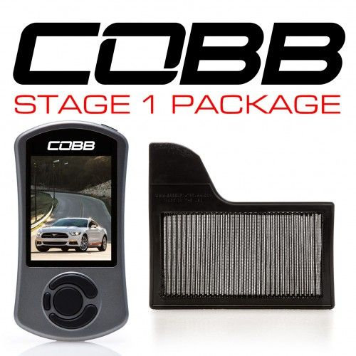 Cobb Ford Stage 1 Power Package Mustang Ecoboost 2.3l 2015-2017