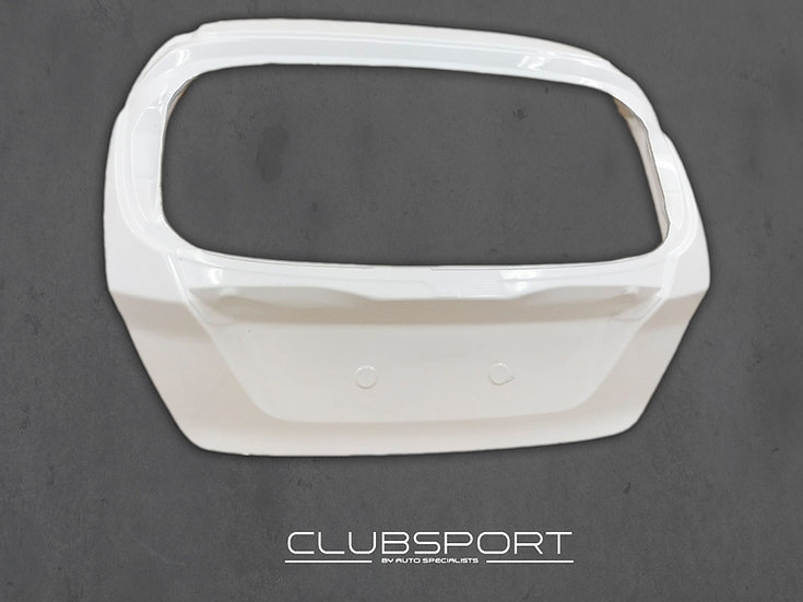 Fiesta Mk7 incl. ST180 - Clubsport by AS Lightweight Composite Tailgate