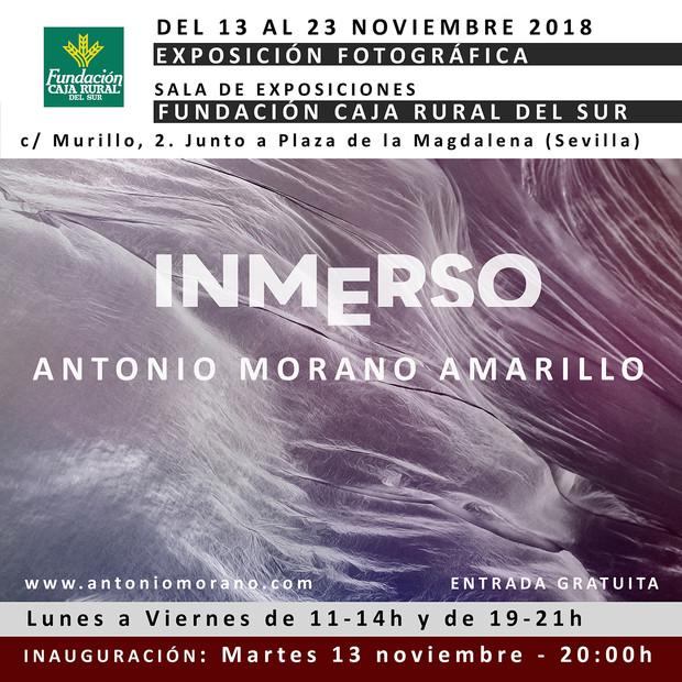 Morano inaugura INMERSO en la Fundación Caja Rural del Sur, en Sevilla