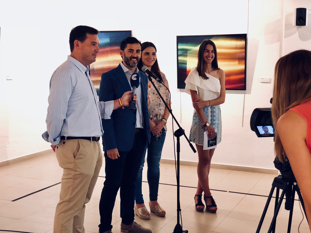 """Los Álamos recoge la Exposición individual """"Inmerso"""" del artista Antonio Morano"""