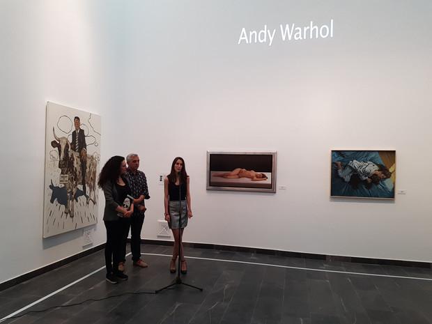 Antonio Morano participa en HUELWARHOL junto con otros artistas onubenses en el Centro Olotense de a