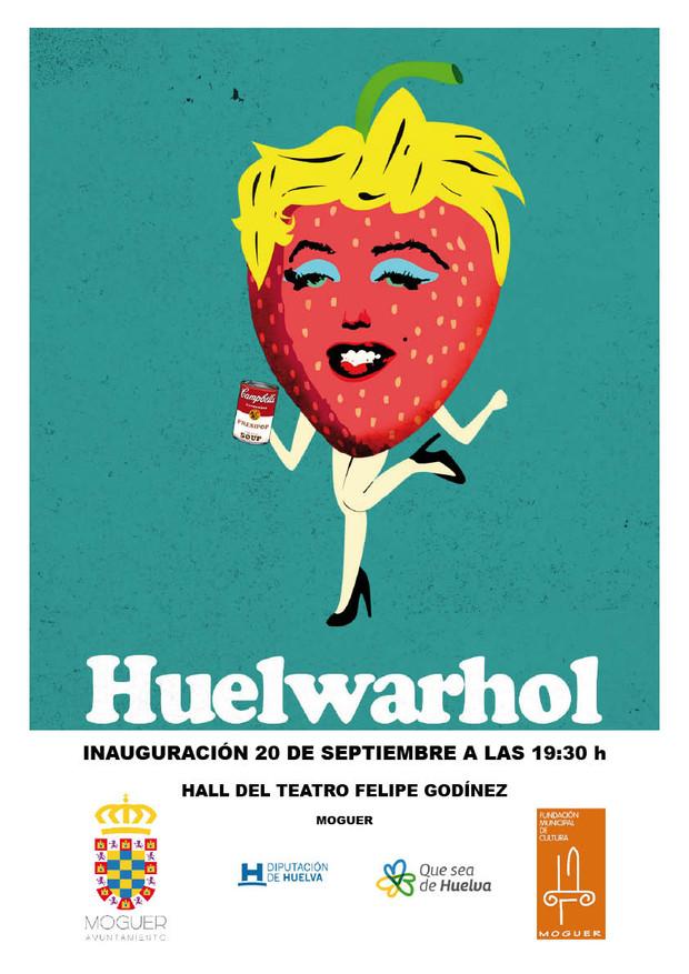 Antonio Morano estará presente en la Exposición colectiva de HUELWARHOL en Moguer (del 20 septiembre