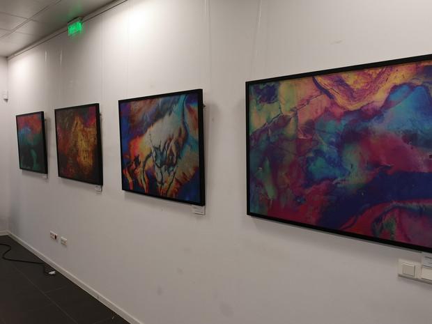 """Exposición de """"Inmerso"""", de Antonio Morano en Canal Sur Cádiz. Noviembre 2019"""
