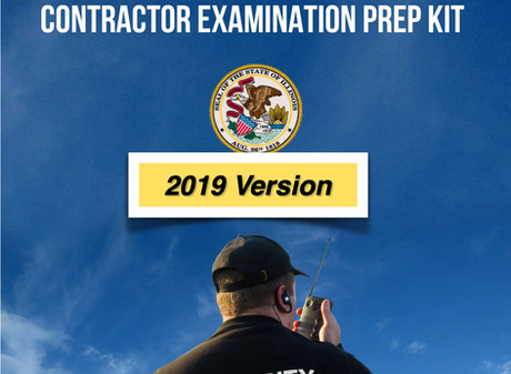 Prepping for the Illinois Private Security Contractor/Detective License Test