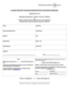 PJDA SecDet Exam Prep Registration Form.