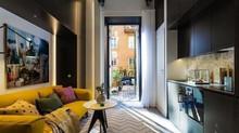 """Рубрика """"Искусство маленькой жизни"""" Квартира в 16 м² с красивой террасой"""