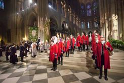 Messe de Saint-Hubert Notre-Dame de Paris 27 novembre 2016 Photo © Olivier Bizard