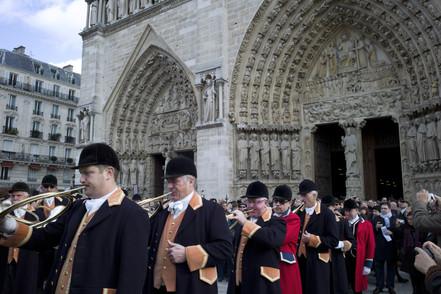 Messe de Saint-Hubert Notre-Dame de Paris 3 novembre 2013 Photo © Olivier Martel