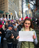 One of my proudest moments since moving to NYC was marching among my fellow New Yorkers during the women's march.jpg
