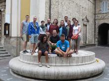 Camminando sulle orme di san Francesco d'Assisi