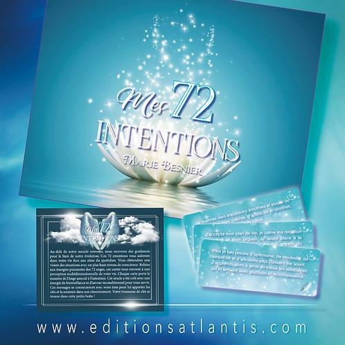 Mes 72 intentions en précommandes