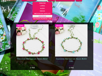 OUVERTURE de la boutique de Mélisse New online shop!