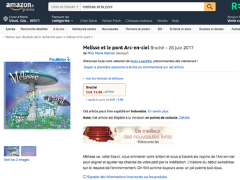 Mélisse sur AMAZON