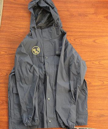 Navy Aubrey Rain Coat