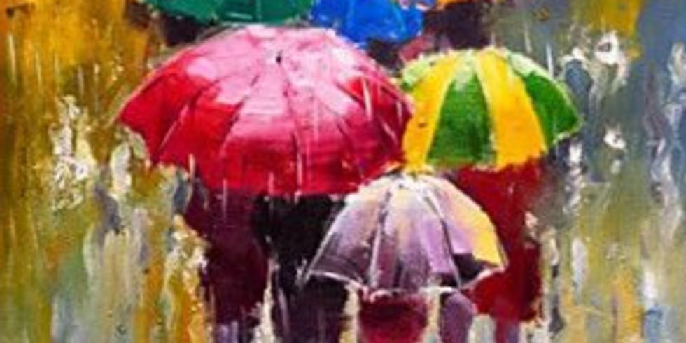 Осенний дождь. Цена 2000 руб.