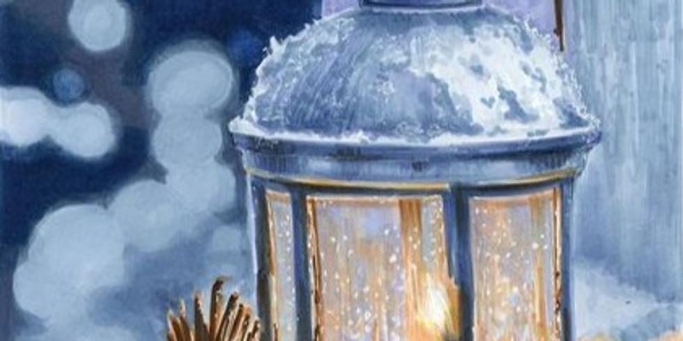 Снежный фонарь. Цена 2000 руб.