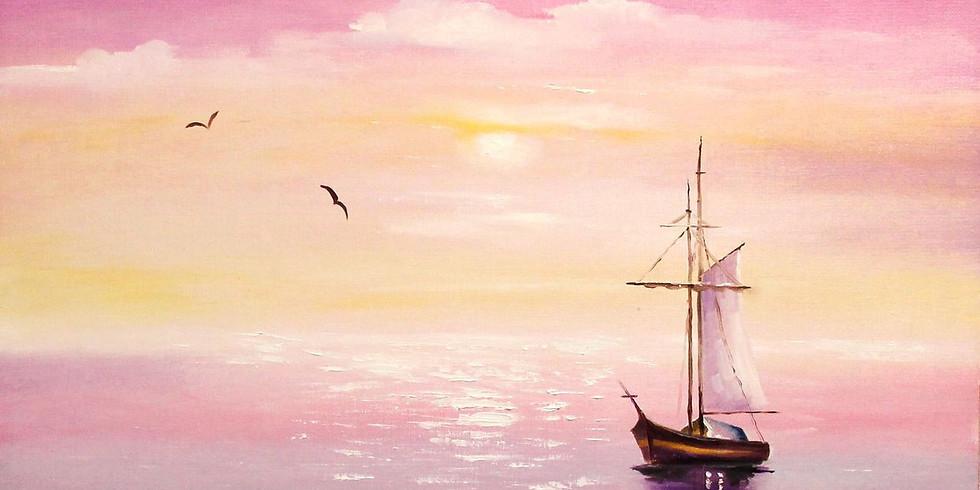 """""""Утро на море"""" 2000 руб"""