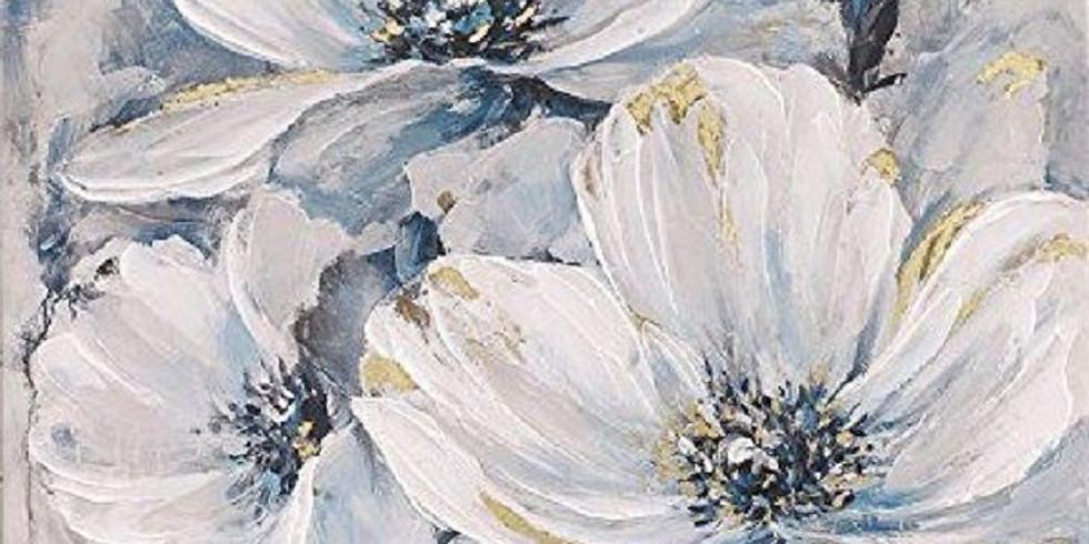 """""""Зимние цветы"""" 2000 руб."""
