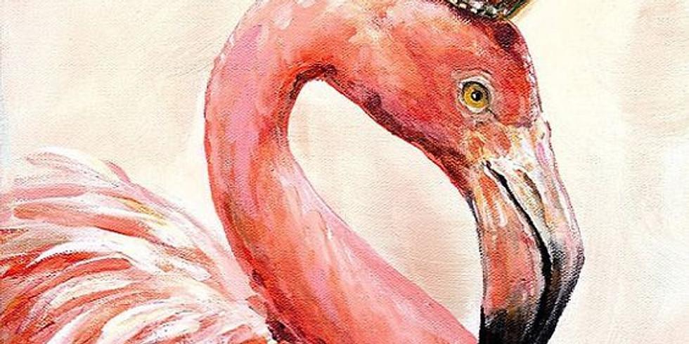 """""""Розовый фламинго"""" Цена 2000 руб."""