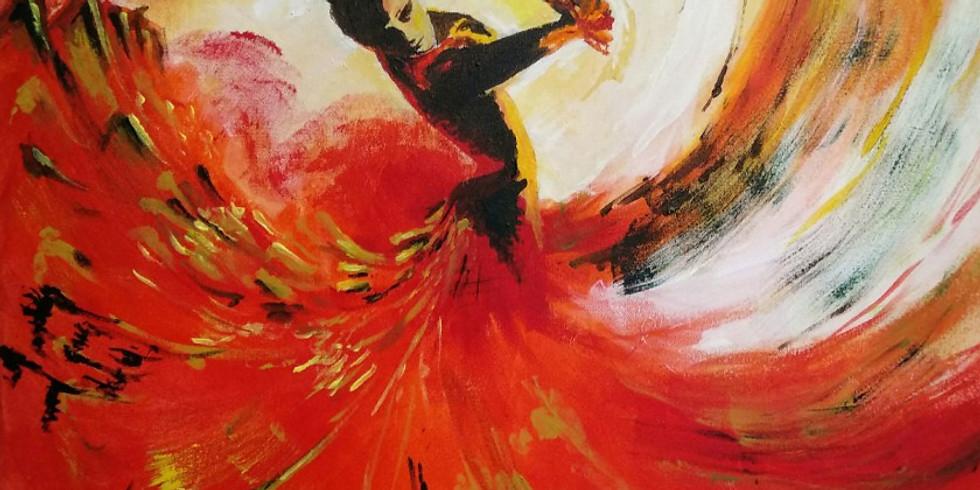"Арт-вечеринка ""Фламенко"" 2000 руб."