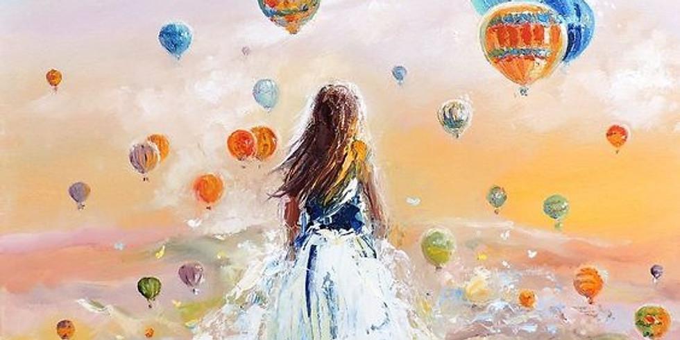 """Арт-вечеринка """"Воздушные шары"""" 2000 руб."""