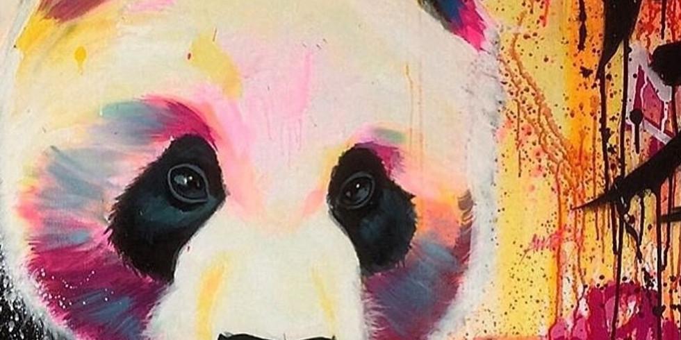 "Арт-вечеринка ""Панда"" 2000 руб."