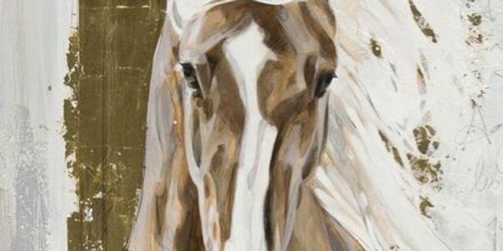 Золотой конь. Цена 2000 руб.