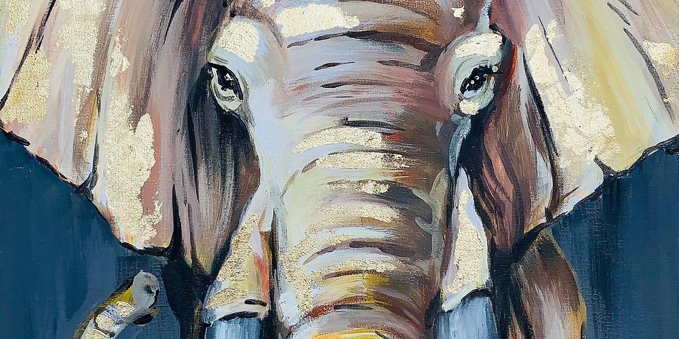 """Арт-вечеринка """"Индийский слон"""" 2000 руб."""